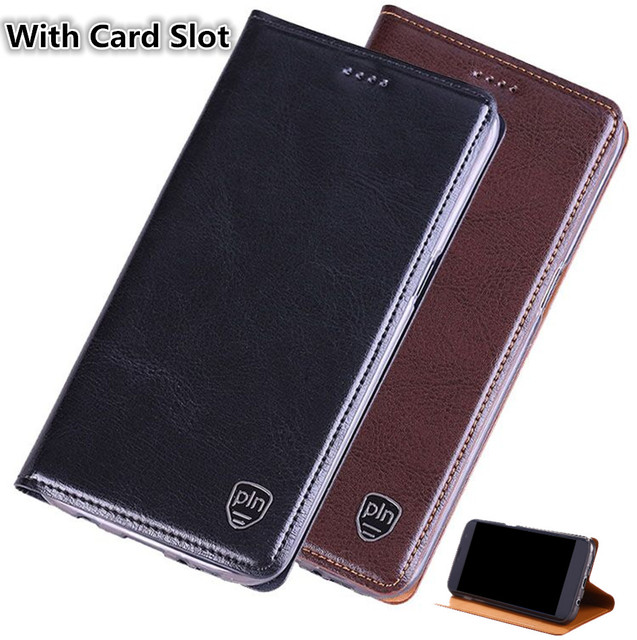 buy popular 61f74 6fb6d US $10.67 11% OFF|ND02 genuine leather flip cover for BlackBerry KEYone  cell phone case for BlackBerry KEYone leather cover free shipping-in Flip  ...