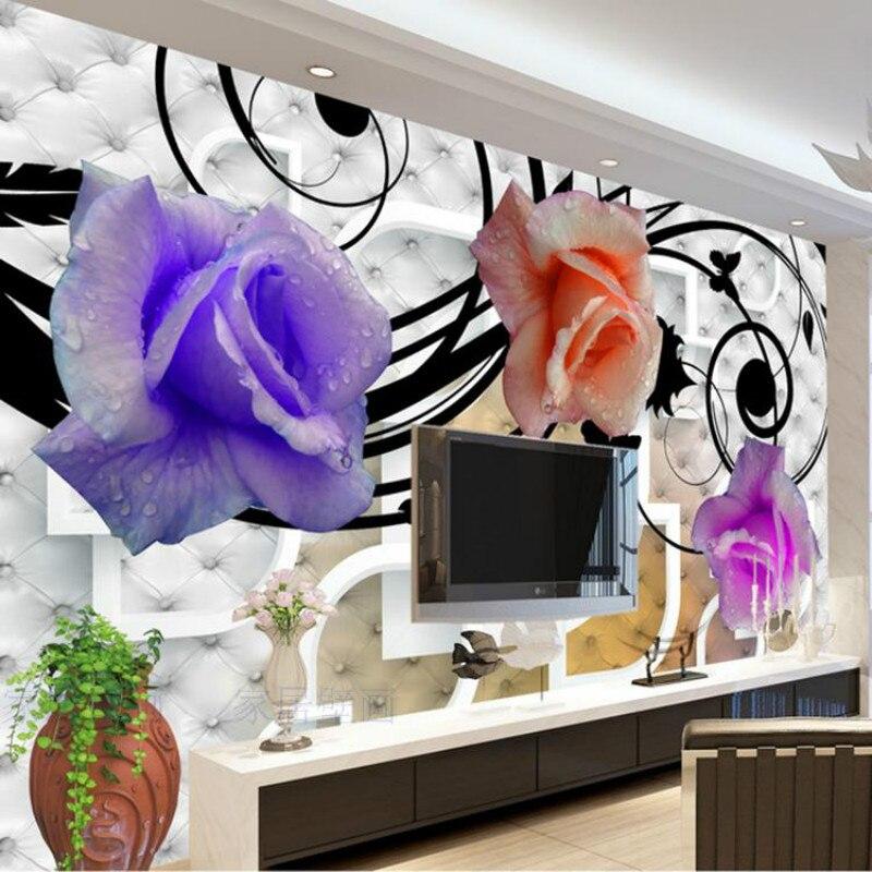 Custom Modern minimalist bedroom living room TVs