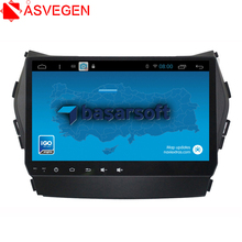 Asvegen Android 6.0 Quad Core Car GPS Radio DvD Player For Hyundai Santa Fe IX45 2G+16GB HD Touch Screen Multimedia