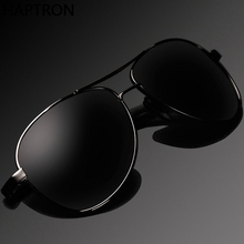 Classic Men Polarized Sunglasses Black Driving aviation