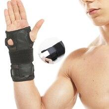 1 PCS Orthopedic Hand Brace Splint Sprain Arthritis Wrist Support Tennis Fitness Dislocation Wristbands Carpal Tunnel Bandage