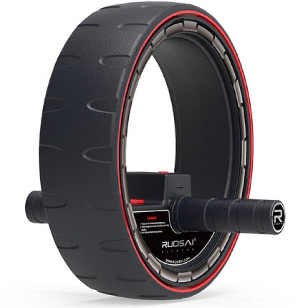Rodillo de ruedas para abdominales con contador electrónico, rueda de entrenamiento central, equipo de ejercicio Abdominal, Pefect para hombre y mujer - 2