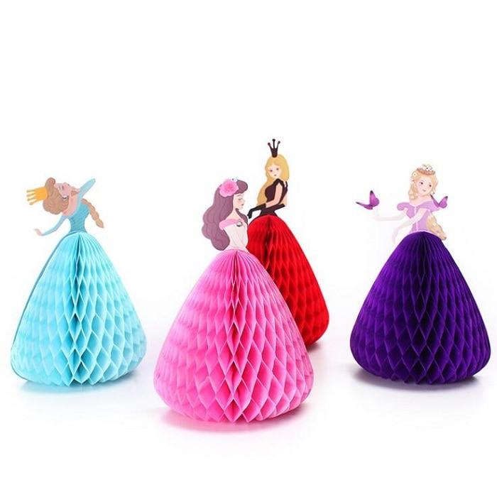 greeting cards paper for Birthday wedding team bride Party Decorgift craft DIY favor baby shower kid 3D dancing princess