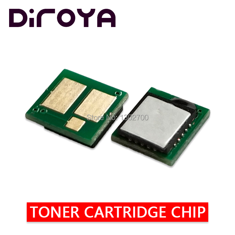 203X CF540X CF541X CF542X CF543X toner cartridge chip For HP Color LaserJet Pro M254 dw M280 M281 M 254dw 280nw 254 281fdw reset for lexmark cx510de toner cartridge chip kcmy set
