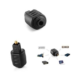 Image 5 - Nouveau Mini prise Jack femelle 3.5mm optique chaude à ladaptateur Audio mâle Toslink numérique