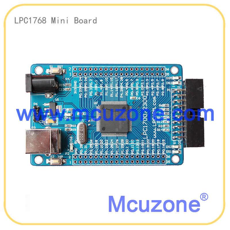 LPC1768 miniboard 100MHz Cortex-M3, USB, EMAC, UART, SPI, I2C, ADC, DAC, SD