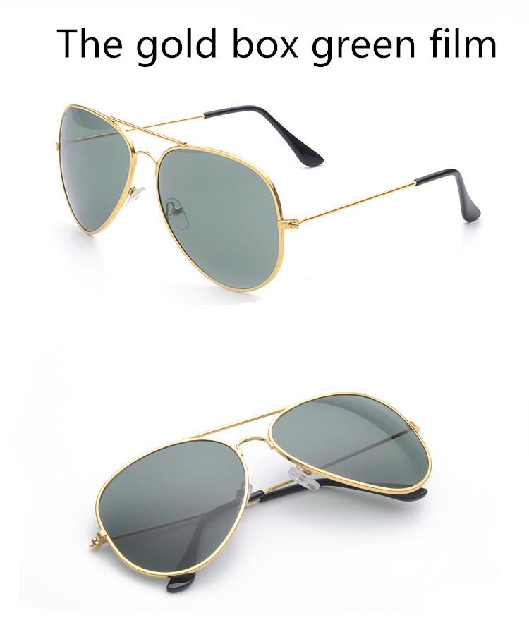 ASUOP2017 new men and women sunglasses pilots glasses high-end brand popular sun glasses goggles UV400 sunglasses sunglasses (16)