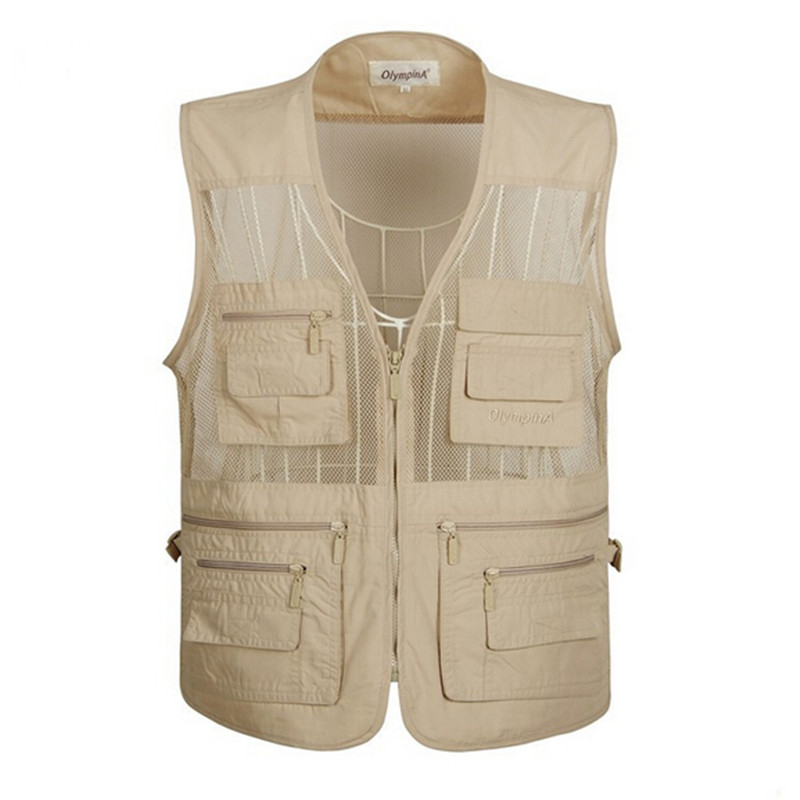 Vest Men Casual vest Photography Vest Big yards Tops Mew