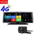 Udricare 8 дюймов 4G sim-карта GPS Android 5 1 WiFi Bluetooth телефон приборной панели Full HD 1080P двойной объектив DVR интернет четырехъядерный GPS