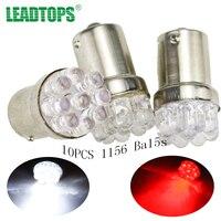 10X Car 9 SMD LED 1156 Ba15s 12V Bulb Lamp Truck Car Moto Tail Turn Signal