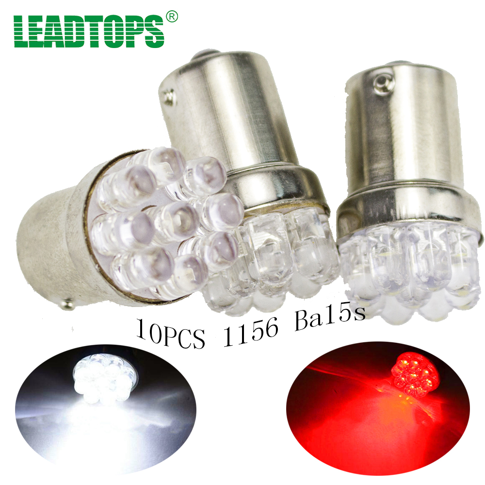 10X Car 9 SMD LED 1156 ba15s  12V bulb Lamp Truck Car Moto Tail Turn Signal Light  White Red Blue yellow (BA15S(1156)) AA 10x car 9 smd led 1156 ba15s 12v bulb lamp truck car moto tail turn signal light white red blue yellow ba15s 1156 aa