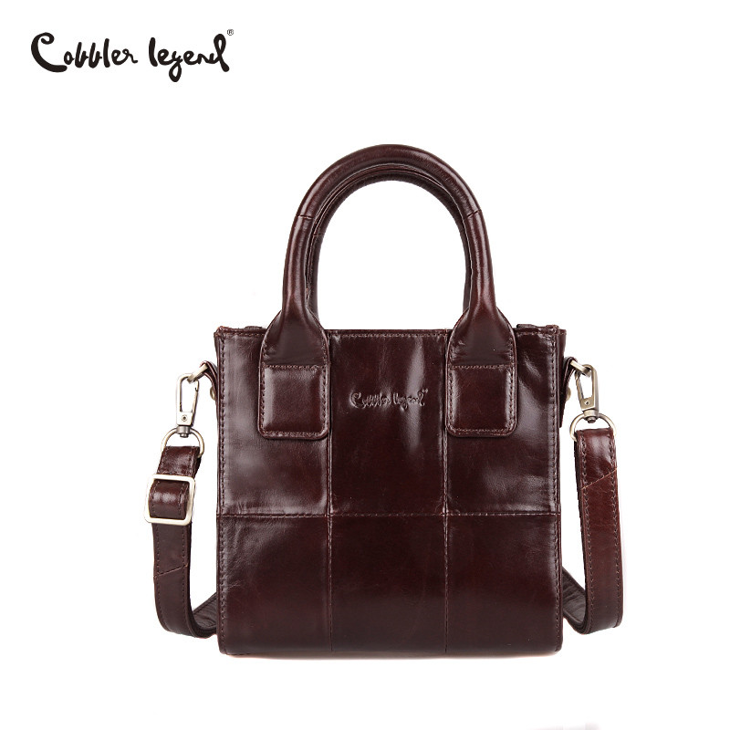 Cobbler Legend Small Bags for Women 2019 Genuine Leather Female Handbags Designer Mini Shoulder Bag Lady
