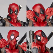 deadpool action figures superhero figurines toys for children anime model