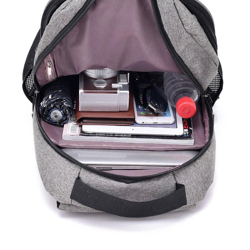 DOPPULLE Laptop knapsack Anti theft Men Backpack With USB Charging  Headphone Interface Port Lock Backpacks Business men knapsack Tags  75b95b883ed42