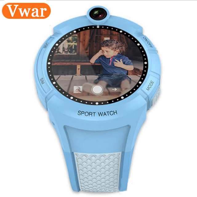 Kids Smart Watches with Camera WIFI GPS Location Child Touch Screen smartwatch SOS Anti-Lost Monitor Tracker baby Children Watch