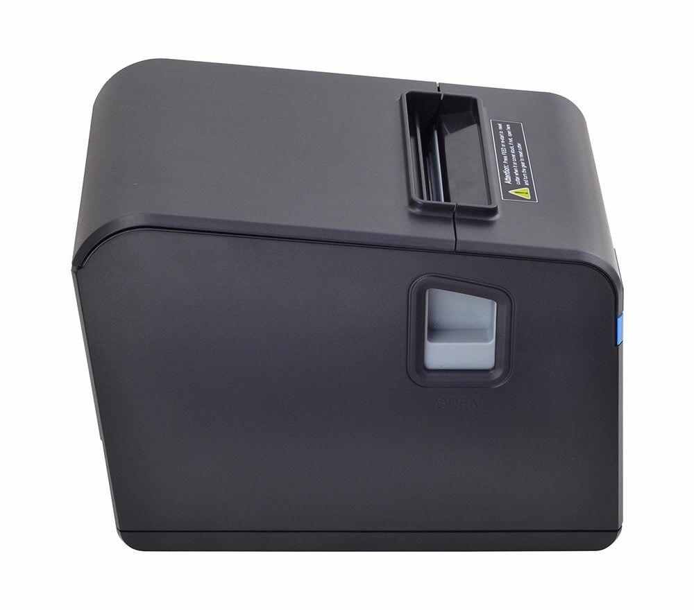 New arrived 80mm auto cutter receipt printer POS priner USB port or Ethernet port