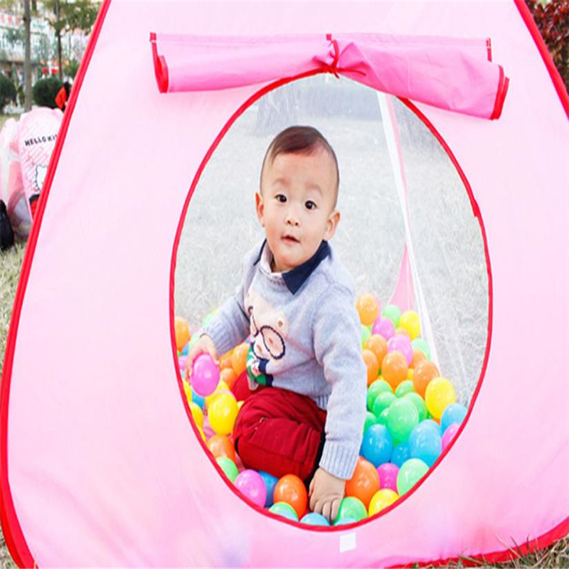 Children Tent Toys Game Pool Game House Outdoor Ocean Ball Pool Folding Portable Play Tent For Kids Not Including the Ball #50