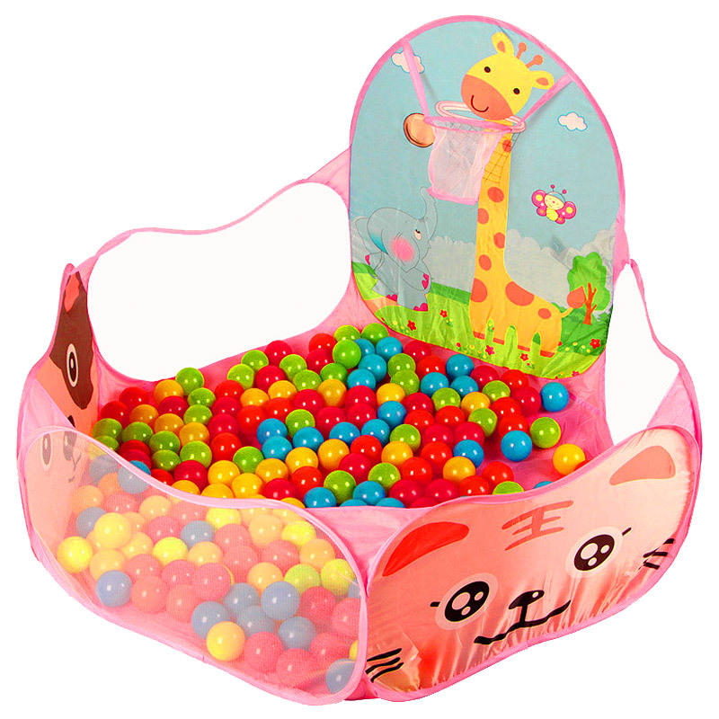 Cute Cartoon Kids Play Tents Safety Toy House Tents Baby Playpens Indoor Ocean Ball Pool Tents for Children