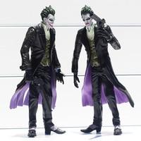 2pcs Lot The Dark Knight Batman The Joker PVC Action Figure Collection Model Toy 16cm Free