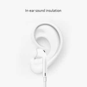 Image 2 - Lighting Earphone with microphone Wired Stereo Earphones for Apple iPhone 8 7 Plus X XS MAX XR  iPod Wired Earphone Lightning
