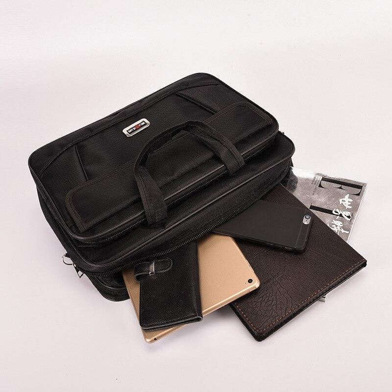 Купить с кэшбэком 2020 High Quality cheap Men Messenger Oxford Bags Minimalism Tote Briefcase Mochilas Para Laptop Business Protect Computer Bag