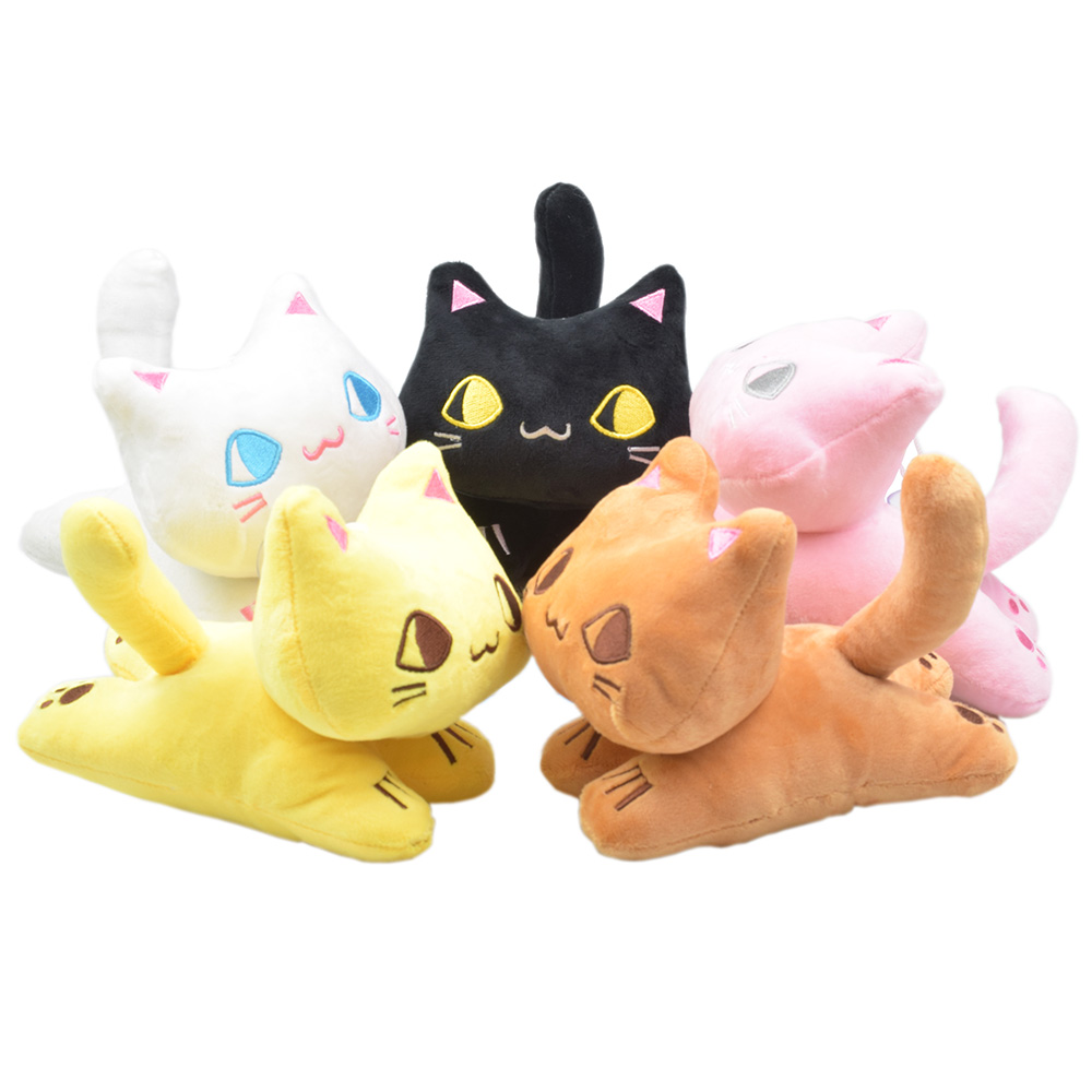 QICSYXJ Birthday Gift Anime Cheese Cat Plush font b Toy b font 7 Chis Sweet Home