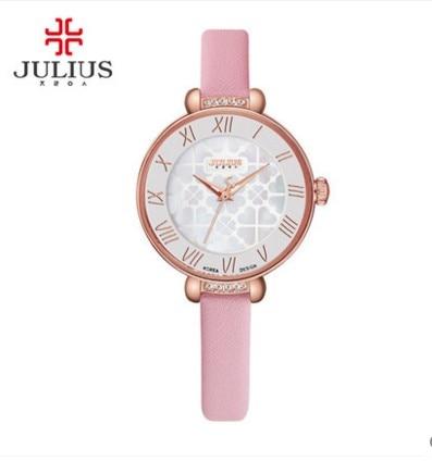 saldi ultime versioni ufficiale più votato US $14.28 49% di SCONTO Julius orologio per ragazza 2016 Della Corea di  disegno Nuovo 2016 modello della vigilanza del quarzo per la ragazza 2016  in ...