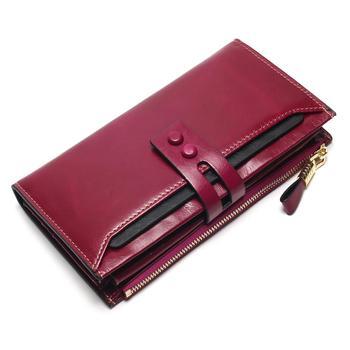 Women's Genuine Leather Clutch Wallet Bags and Wallets Women's Wallets Color: Purple