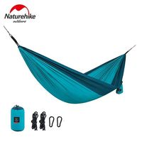 Naturehike Hammocks Single Double Hanging Sleeping Bed Thicken Camping Hiking Swing Portable Ultralight Travel Picnic