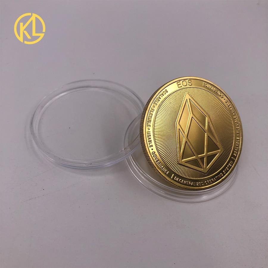 Прямая поставка позолоченная монетница Monero коллекционный подарок Casascius Бит монета Биткоин художественная коллекция физический Золотой памятные монеты - Цвет: CO-013-1