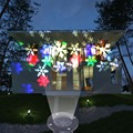 Christmas Projector Lamps LED Light Colorful Snow Christmas Party Landscape Light Garden Lamp Outdoor Projector Lighting Lamps