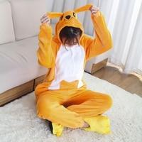 Animale Kigurumi Tutina Flanella Adulti Adolescenti Donne Pijama Pigiami Divertente Caldo Molle Sleepwear Donne Globali Onepiece Tuta
