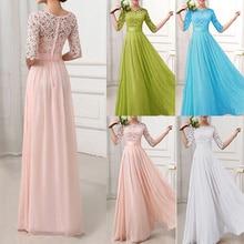 5b67ab8fe96b4 3XL 4XL 5XL Plus Size Maxi Long Dresses Women Chiffon Lace Dress Long Gowns  Christmas Dress