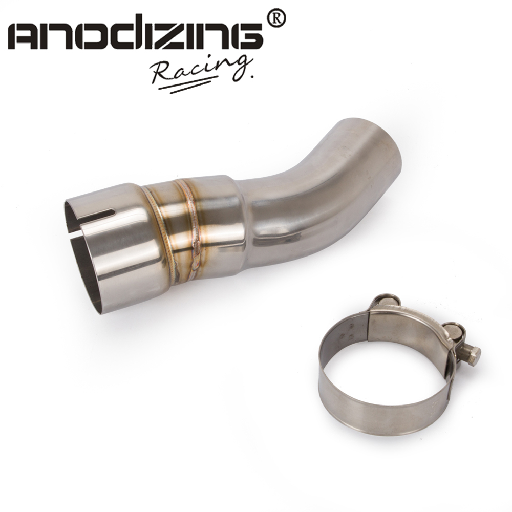 Exhaust-Middle-Pipe Motorcycle KAWASAKI ZX10R for Without