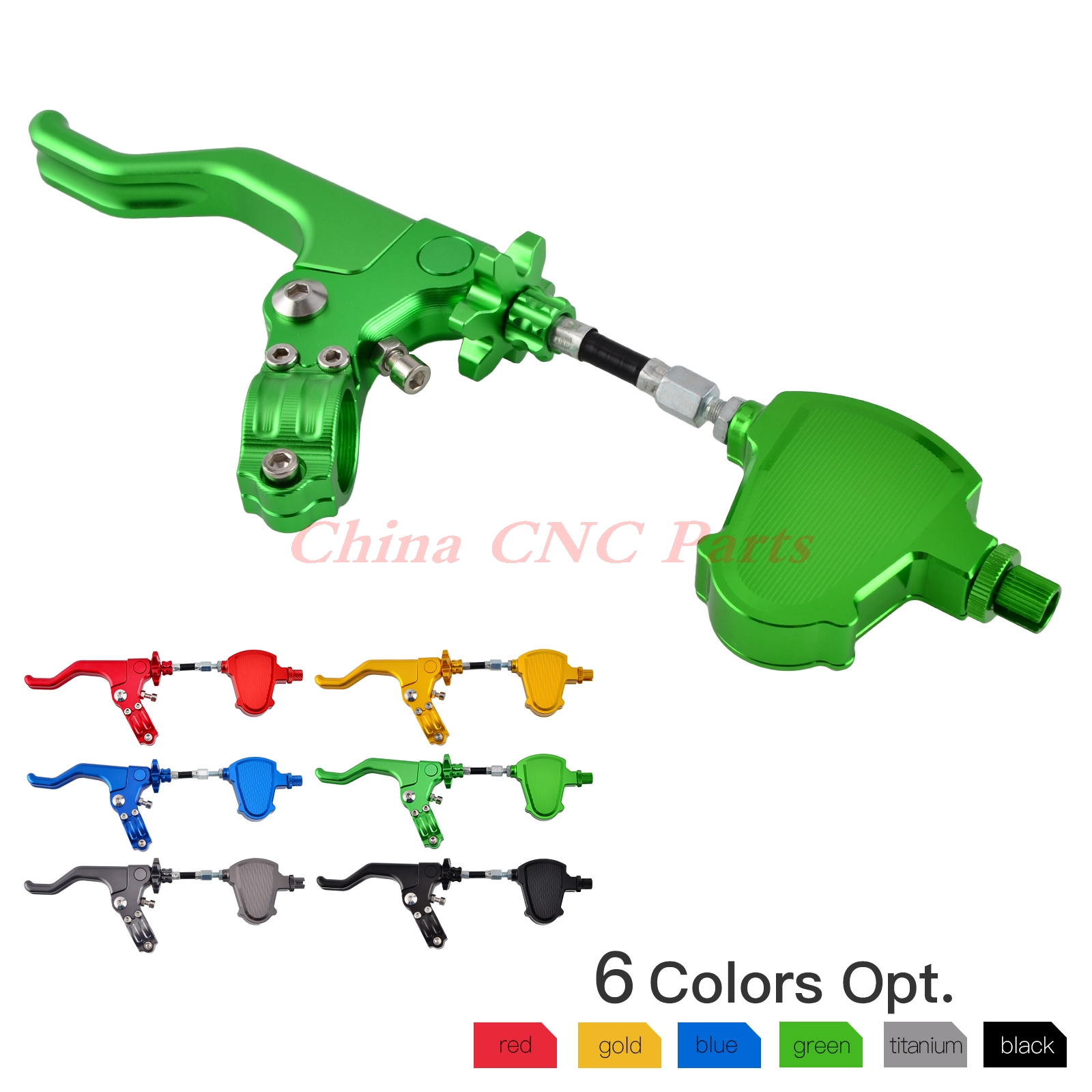 NICECNC Stunt Clutch Pull Cable Lever Replacement Easy System For Kawasaki KX KLX 125 250 Z800 Z900 Z1000 Z750 ZX6R ZX10R ER6F/N fxcnc universal stunt clutch easy pull cable system motorcycles motocross for yamaha yz250 125 yz80 yz450fx wr250f wr426f wr450