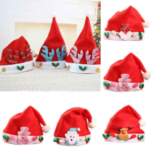 0b9ecc01f02 Detail Feedback Questions about Pudcoco Hot Family Matching Outfits LED  Santa Claus Reindeer Snowman Xmas Hat For Party Adults And Kid Fit Cap 3  Style With ...