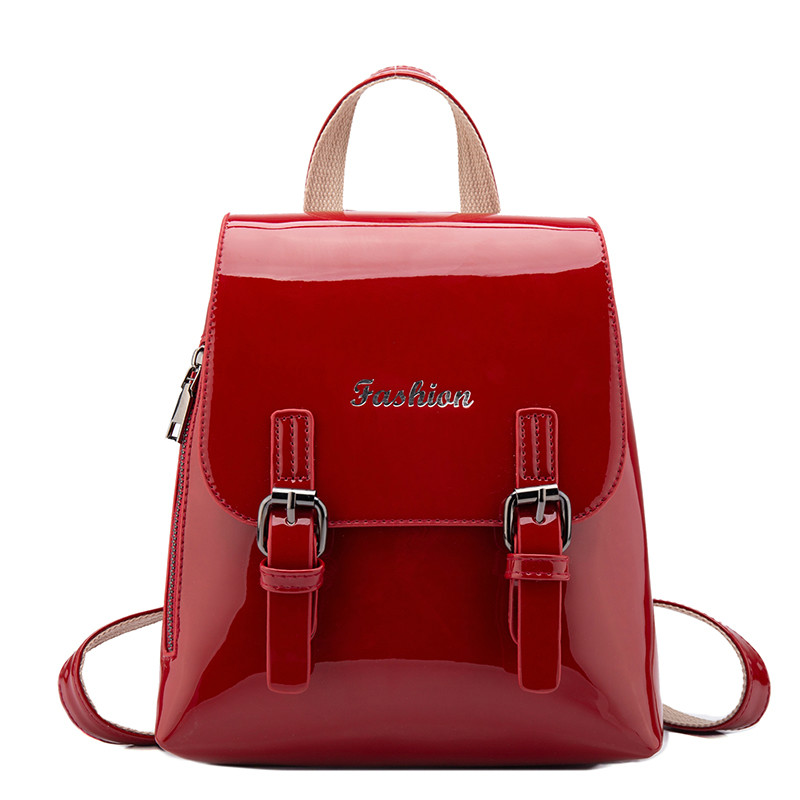 2018 Fashion Small Backpack Luxury Ladies Back Pack Designers Brand Belt Female Leather Bags for Teenage Girls Sac A Dos Female