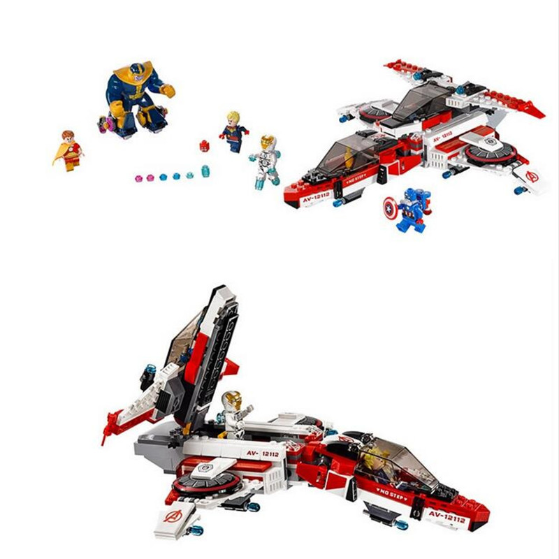 LEPIN 55Super heroes Mini figures Captain America Jet-propelled aircraft iron Man Building Blocks brick Minifigures