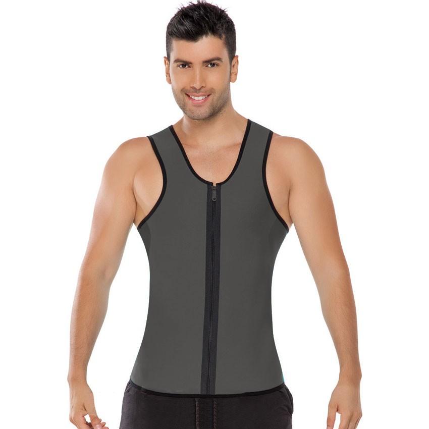 75806281417 Fitness man sweating enhancing waist trainer corset cincher waist ...