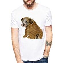 Cute English Bulldog Puppy and Pug NYC Printed T Shirt