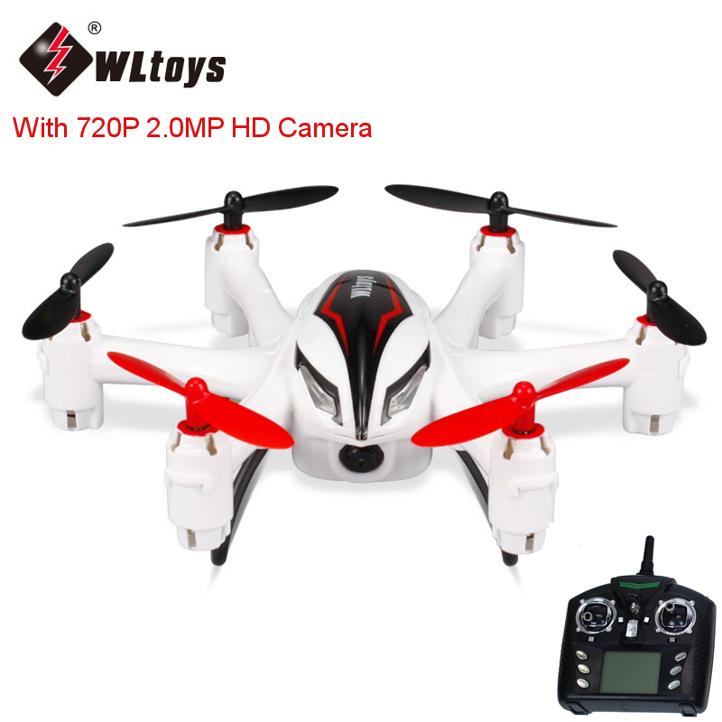 2017 Hot WLtoys Q282J 2.4G 4CH  RC Quadcopter Mini Helicopter Drone With 720P 2.0MP HD Camera Remote Control Toys RTF As Gift mini drone rc helicopter quadrocopter headless model drons remote control toys for kids dron copter vs jjrc h36 rc drone hobbies
