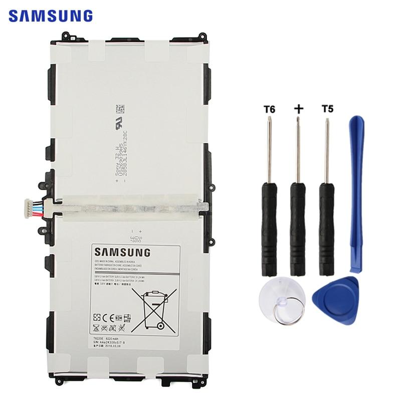 SAMSUNG T8220E Tablet Substituição Da Bateria Original Para Samsung Galaxy SM-P601 P600 P605 P607T T525 T520 Nota 10.1 Edição 2014