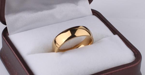 Venta caliente alta placa de oro polaco acero de titanio mujeres - Bisutería - foto 3