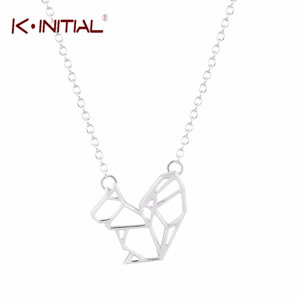 Kinitial 10pcs gold silver charms squirrel pendant choker necklace kinitial 10pcs gold silver charms squirrel pendant choker necklace for women lovely animal necklaces wholesale jewelry gift aloadofball Image collections
