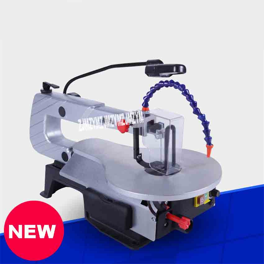 JFS1601 Multi-function Carving Machine Desktop DIY Electric Household Hand Saws Woodworking Table Saw Steel Wire Saw 220V 150W le100 multi function desktop socket countertop manual flip table plug multimedia interface