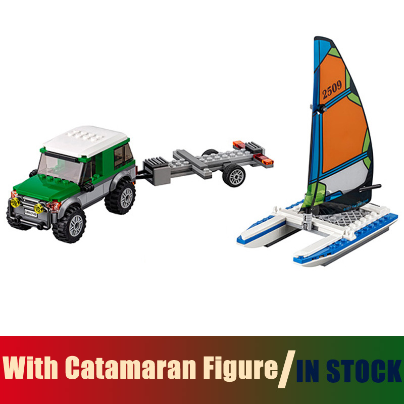 Compatible Lego City 60149 Models Building Toy With Catamaran Figure 212pcs 02027 Building Blocks Toys & Hobbies