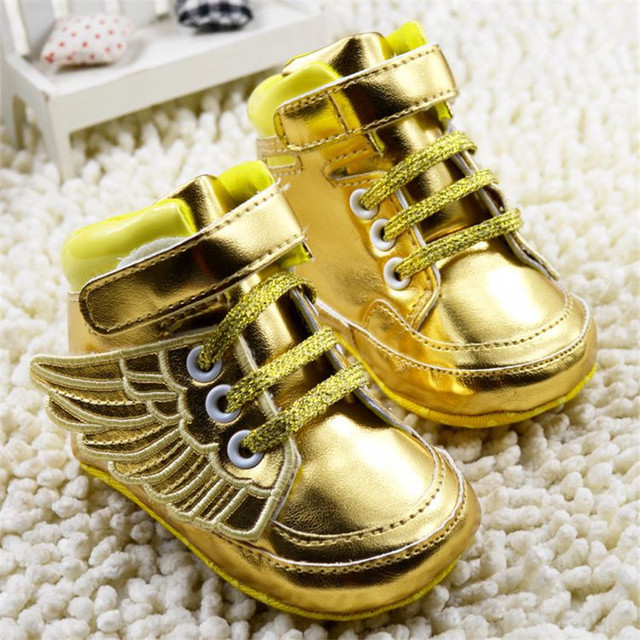 Brand Wing Casual Newborn Shoes Baby Boys Girls Infants Chaussure Kids  Sports Sneakers Toddler Boots Unisex Booties Bebe Sapatos 7588693d2c13