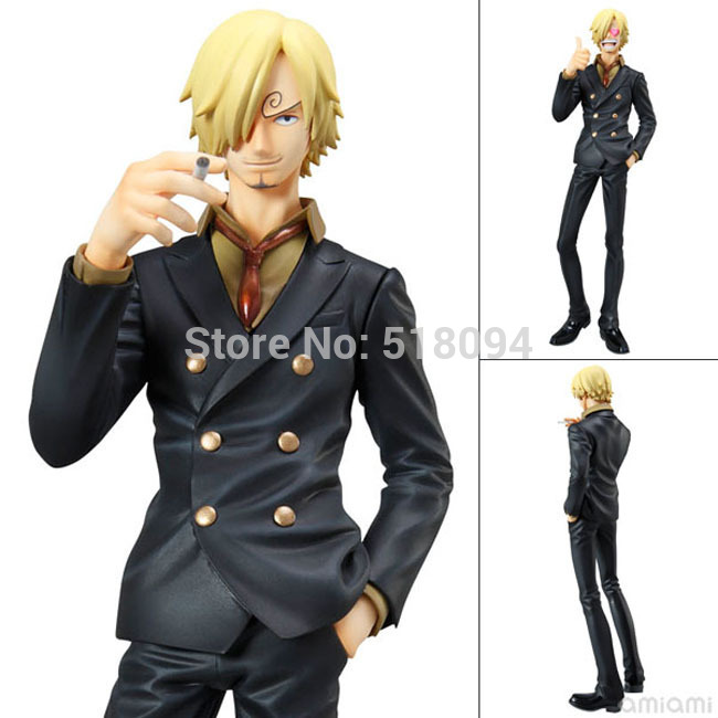 Free Shipping Cool 9 One Piece P.O.P POP Sanji PVC Action Figure Colletiion Model Toy 22cm OPFG023 brand new portrait of pirates one piece roronoa zoro 23cm pvc cool cartoon action figure model toy for gift kids free shipping