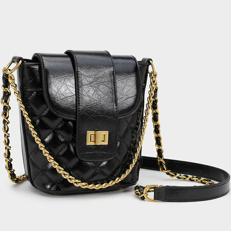 High Quality Casual Handbag Simple Multifunction Women 39 s Messenger Bags Summer Lady Fashion Crossbody Chain Bucket Bag in Shoulder Bags from Luggage amp Bags