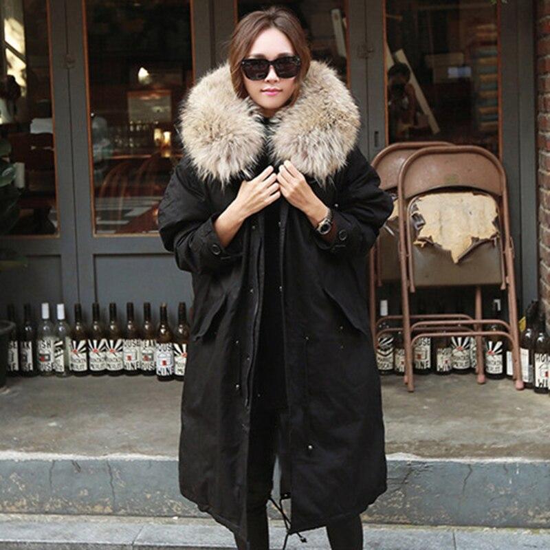 Women Winter Coat Jacket Warm Hooded Fur Collar Cotton Long   Parka   Women Clothing for Mujer Feminine De Inverno Casaco